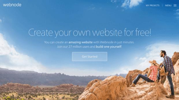 δωρεάν κατασκευή ιστοσελίδας με webnode